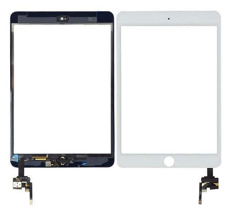 iPad Mini 3 Glass/Digitizer - White