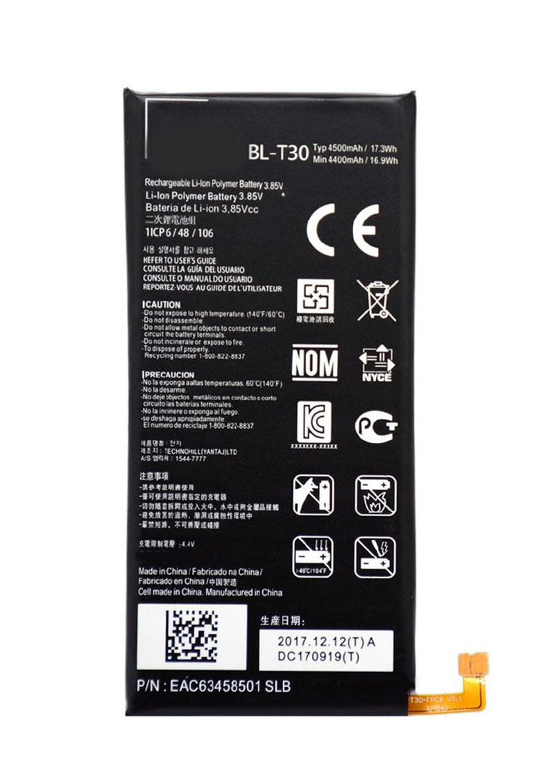 Replacement Battery for LG X Power 2 / X Power 3 / X Charge / Fiesta 2 LTE (BL-T30)