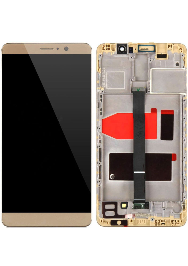 Huawei Mate 9 LCD Assembly w/Frame - Brown