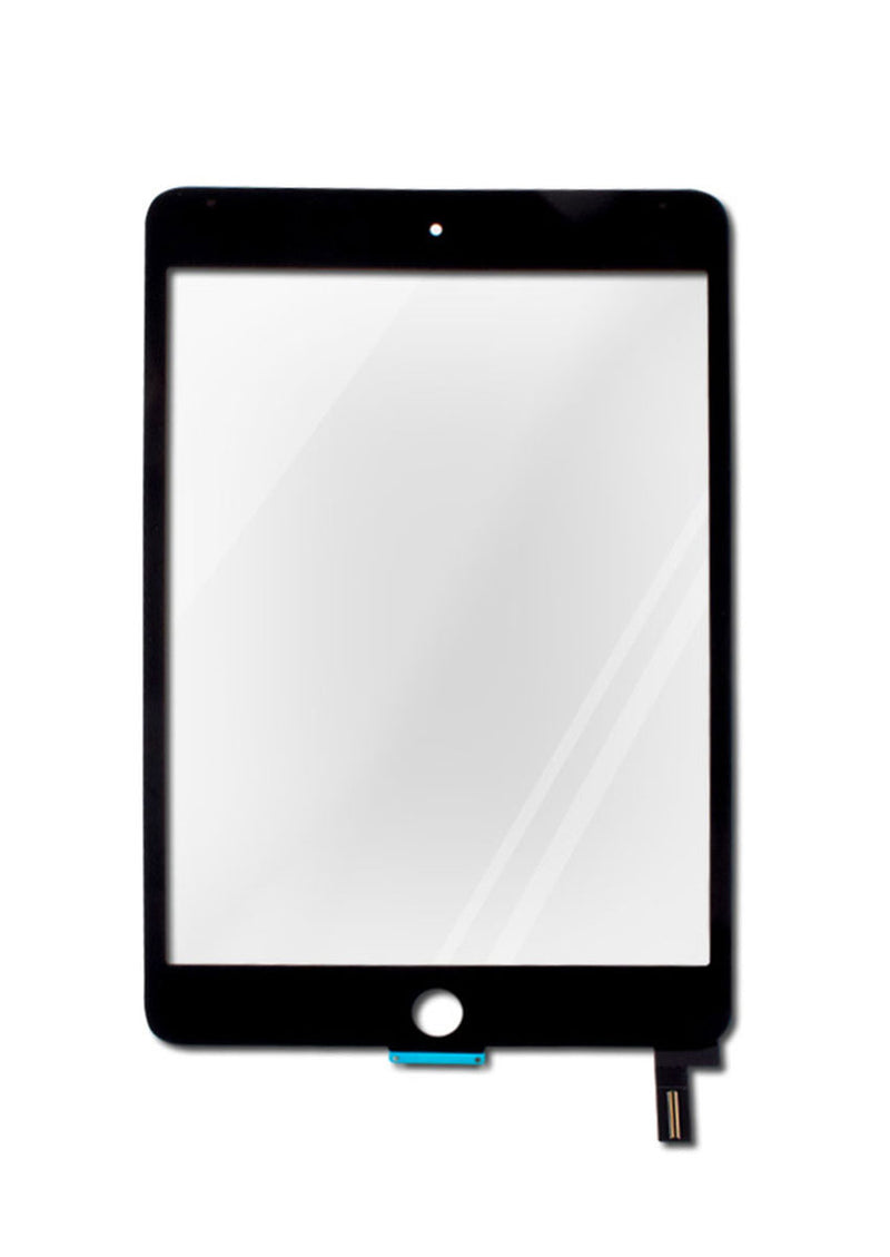 iPad Mini 4 Glass Digitizer - Black (GLASS SEPARATION REQUIRED)