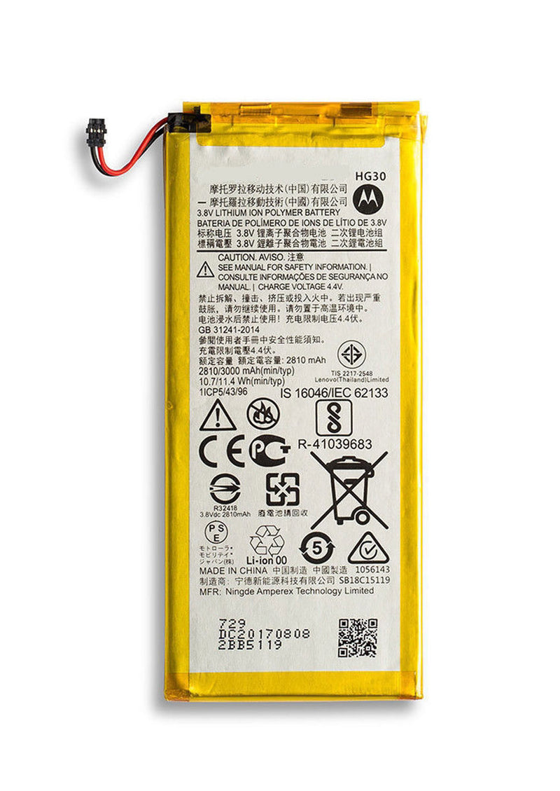 Replacement Battery for Motorola Moto G5S XT1793 / G5S Plus XT1806/ Moto G6 XT1925 (HG30)