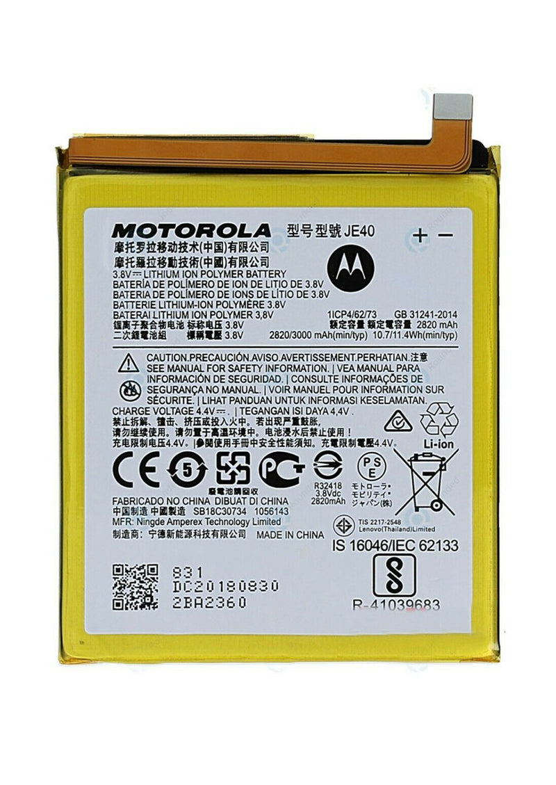 Replacement Battery for Motorola Moto G7 Play XT1952(JE40)