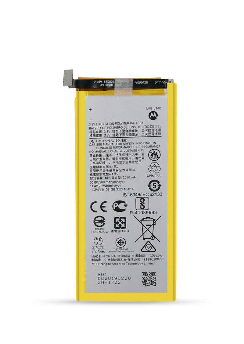 Replacement Battery for Motorola Moto G6 Plus XT1926 (JT40)