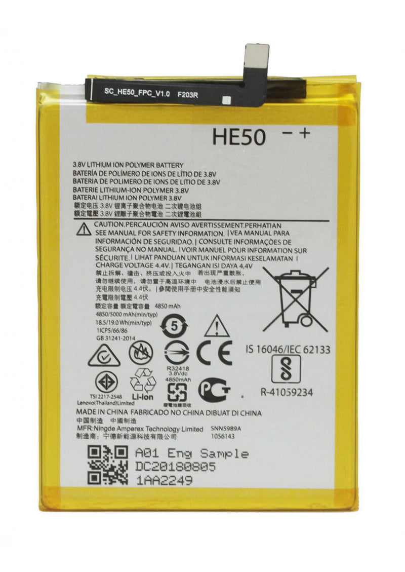 Replacement Battery for Motorola One / P30 Play / Moto E4 Plus XT1774 / E5 Plus XT1924 (HE50)
