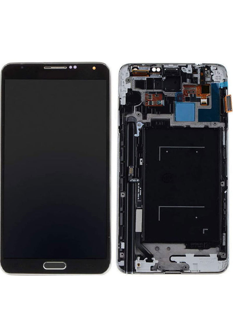 Samsung Note 3 LCD Replacement w/Frame  - Black (N900P/N900V)