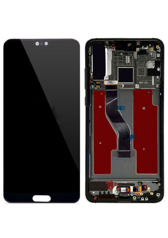 Huawei P20 Pro LCD Assembly w/Frame - Black