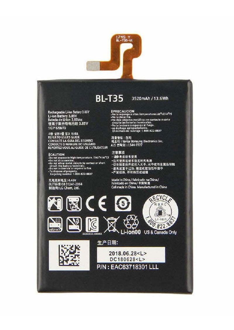 Replacement Battery for Google Pixel 2 XL (BL-T35)