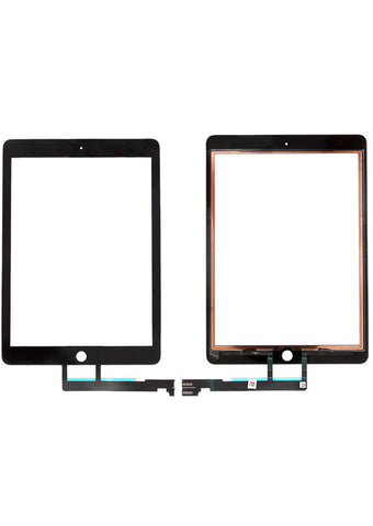 iPad Pro 9.7 Glass Digitizer - Black (GLASS SEPARATION REQUIRED)