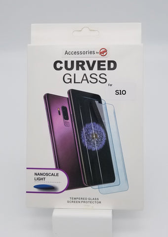 NanoTech Samsung S10 Full Glue Tempered Glass