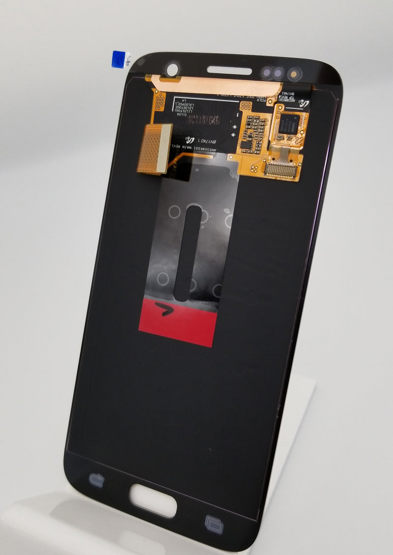 Samsung S7 LCD Replacement NO FRAME - Gold (Service Pack)