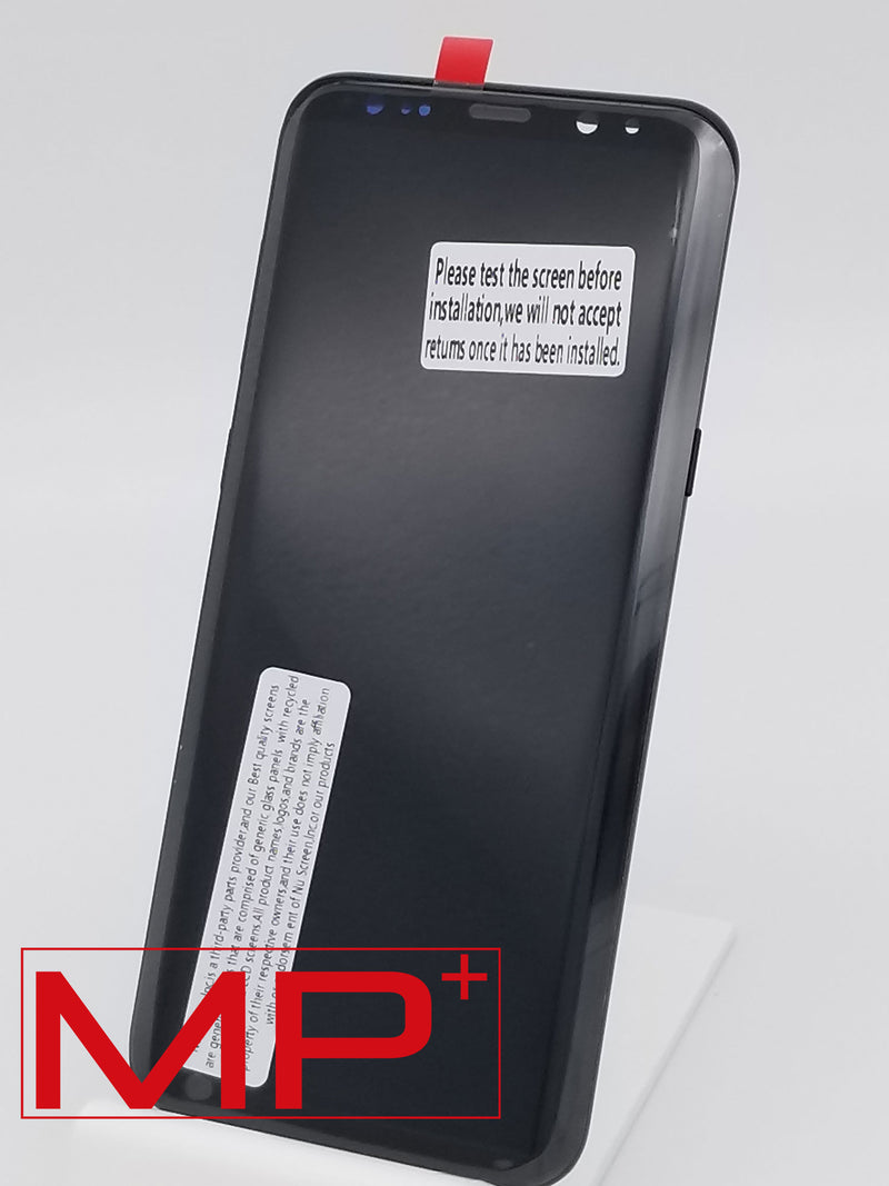Samsung S8 Plus Replacement LCD with Frame - Black