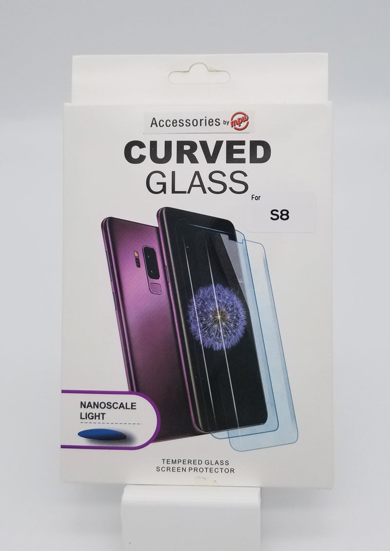 NanoTech Samsung S8 Full Glue Tempered Glass