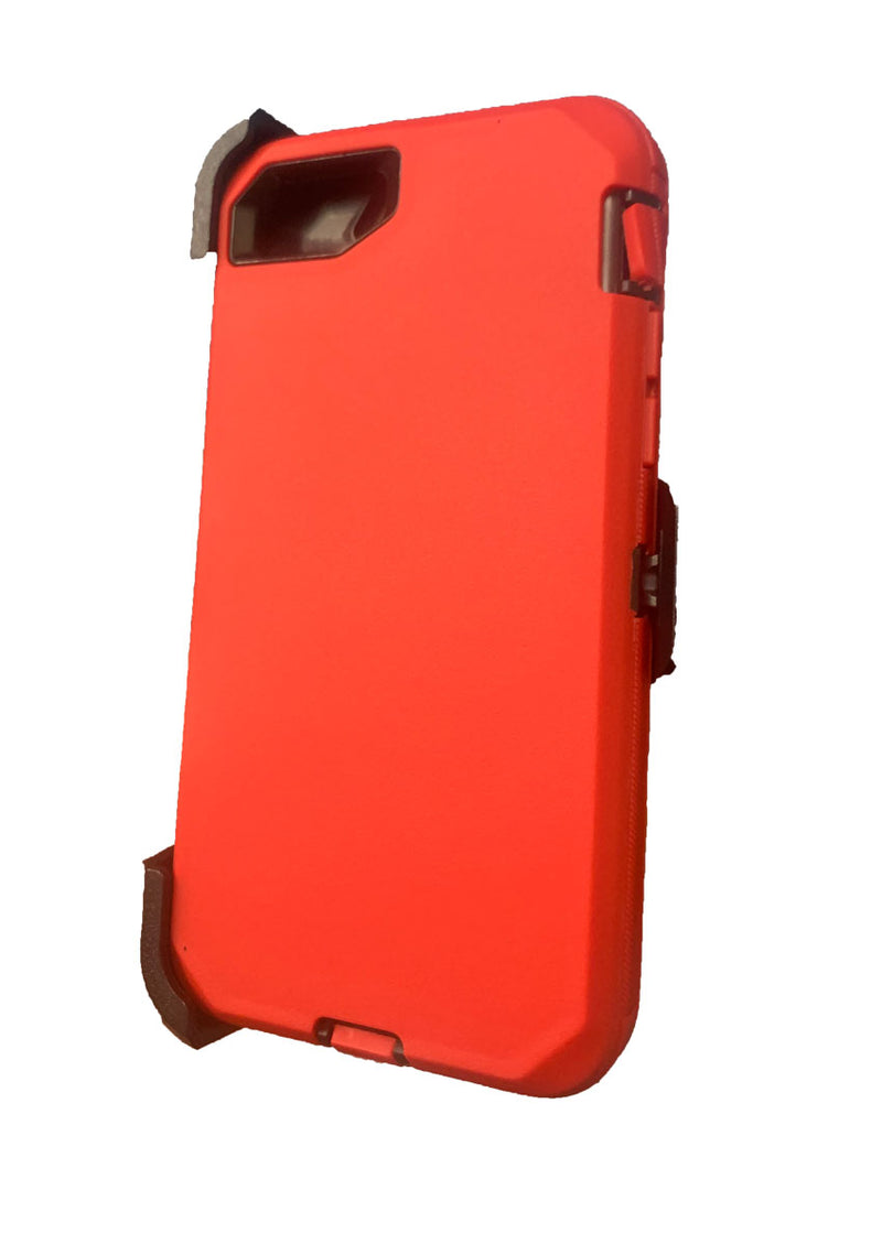 Defender Hard Shell Case w/ Belt Holster Clip for iPhone SE (2020)