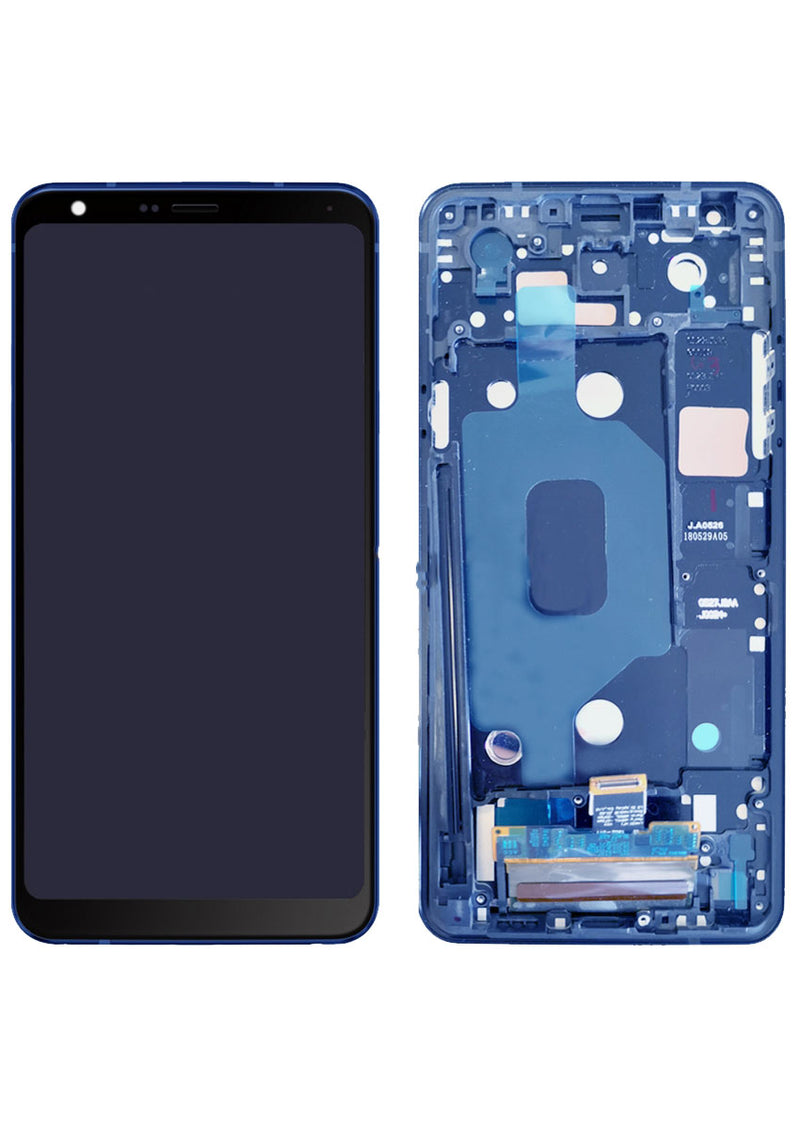 Lg Stylo 4 /Stylo 4 Plus LCD Assembly w/Frame - Blue