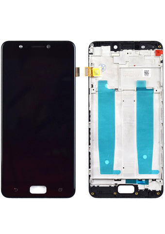 Asus ZenFone 4 Max (ZC520KL) LCD Assembly w/Frame - Black