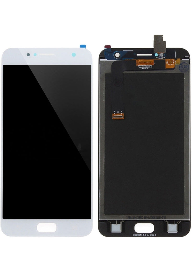Asus ZenFone 4 Selfie LCD Assembly NO FRAME - White