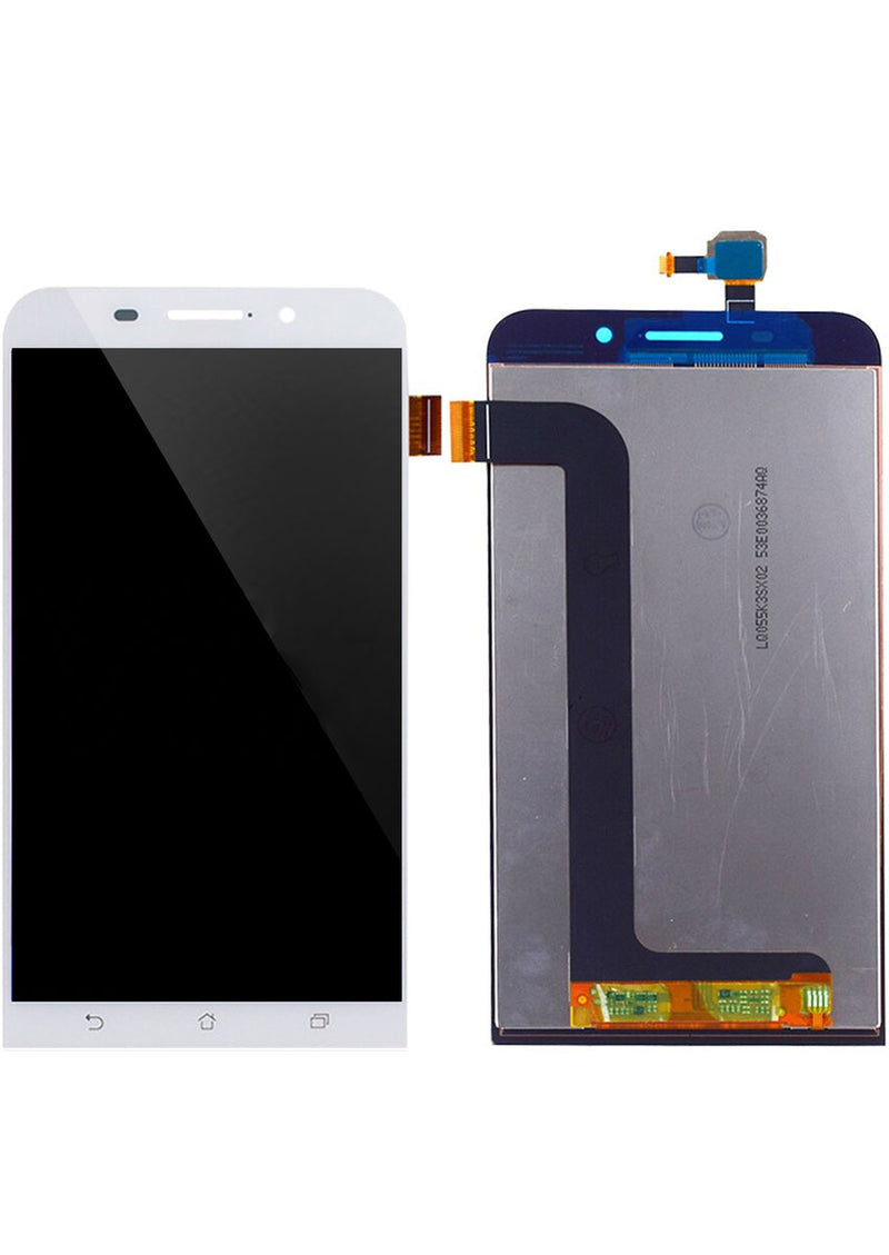 Asus ZenFone MAX LCD Assembly NO FRAME - White