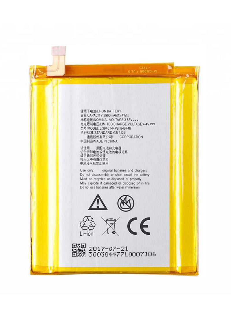 Replacement Battery for ZTE Max XL/Blade Max 3 (Li3940T44P8H846748)