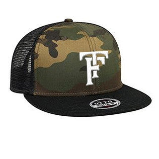 Initials Camouflage Hat