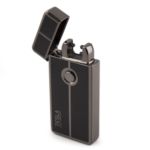 What Does Tc Mean >> Tesla Coil Lighters USB Rechargeable Windproof Dual Arc Lighter