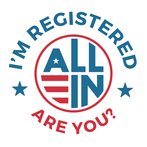 I'm Registered Stickers