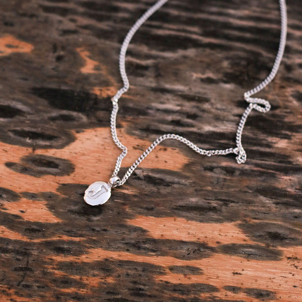 Zoe J Silver Necklace