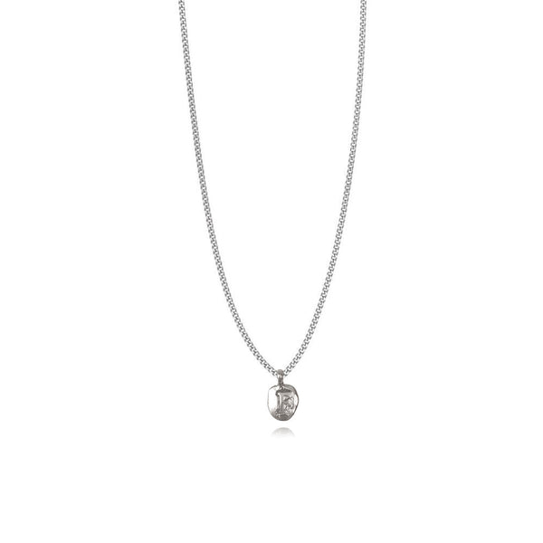 Zoe F Silver Necklace