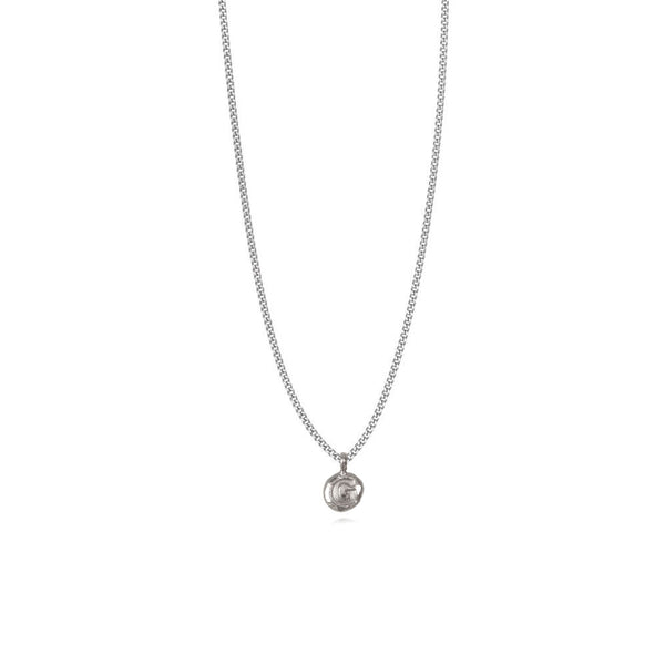 Zoe G Silver Necklace