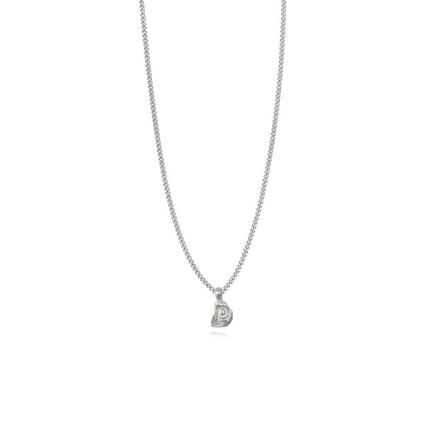 Zoe P Silver Necklace