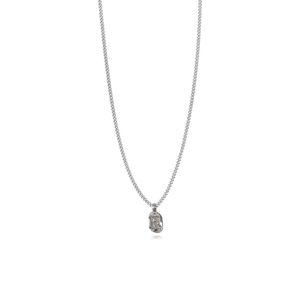 Zoe R Silver Necklace