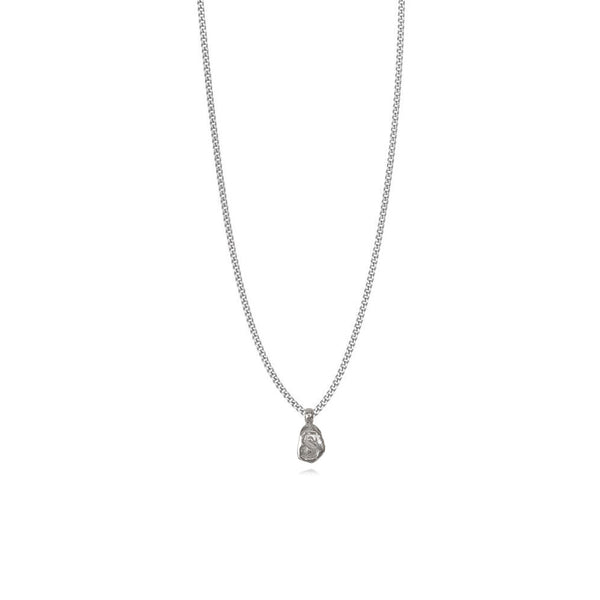 Zoe S Silver Necklace