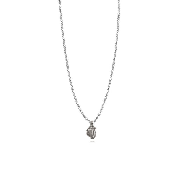 Zoe T Silver Necklace
