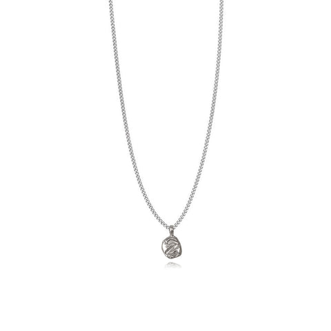 Zoe Z Silver Necklace