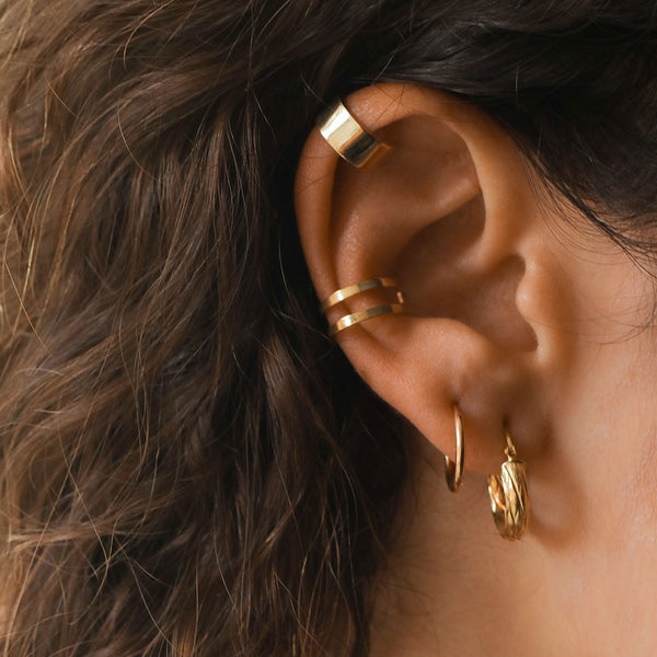 Emma Gold Hoops