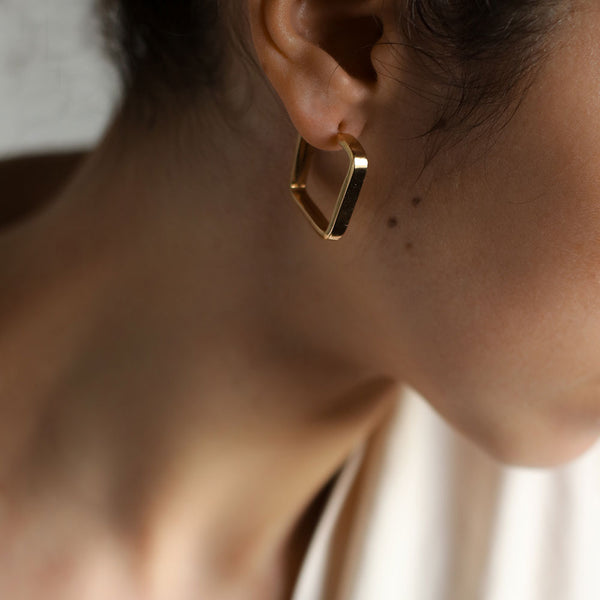 Jane Gold Hoops