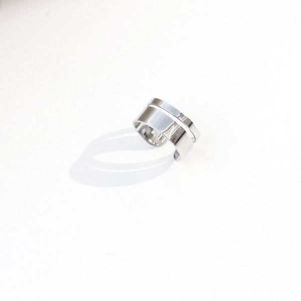 mel jewel jane silver ring minimal jewellery