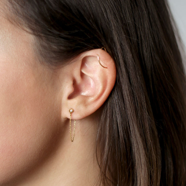 Louise Gold Earring