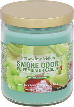 Smoke Odor Exterminator Candle - Honeydew Melon