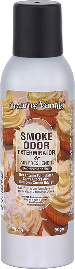 Smoke Odor Exterminator Spray - Creamy Vanilla - 7oz