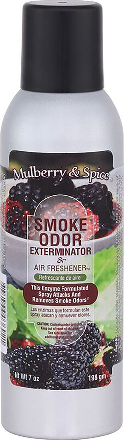 Smoke Odor Exterminator Spray - Mullberry & Spice - 7oz