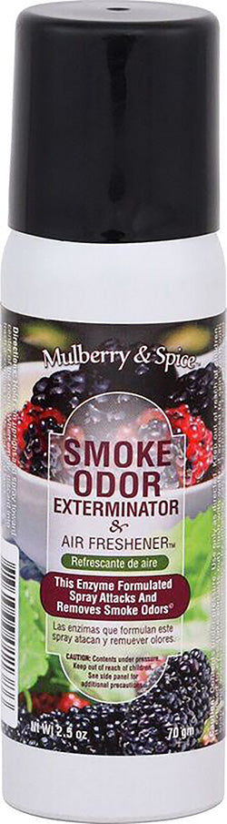 Smoke Odor Exterminator Spray - Mulberry & Spice - 2.5oz