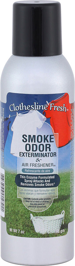 Smoke Odor Exterminator Spray - Clothesline Fresh - 7oz