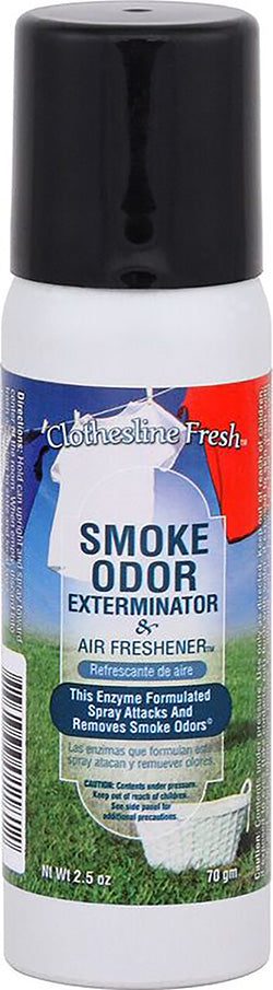 Smoke Odor Exterminator Spray - Clothesline Fresh - 2.5oz