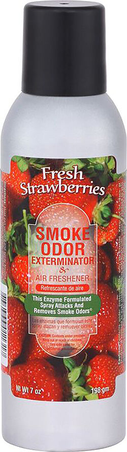 Smoke Odor Exterminator Spray - Fresh Strawberries - 7oz