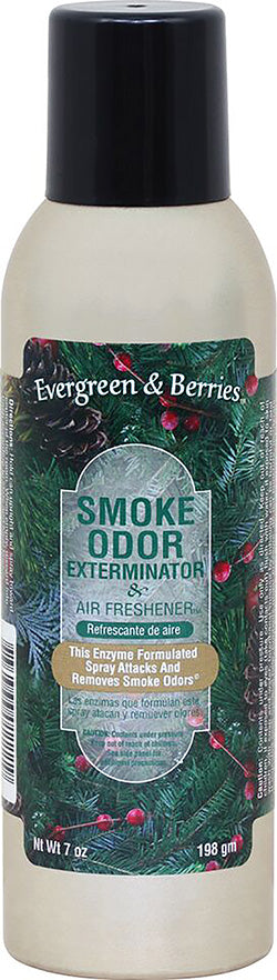 Smoke Odor Exterminator Spray - Evergreen & Berries 7oz
