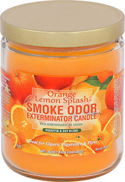 Smoke Odor Exterminator Candle - Orange Lemon Splash
