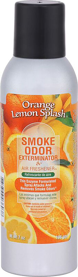 Smoke Odor Exterminator Spray - Orange Lemon Splash - 7oz