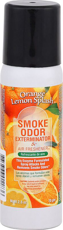 Smoke Odor Exterminator Spray - Orange Lemon Splash - 2.5oz