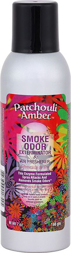 Smoke Odor Exterminator Spray - Patchouli Amber - 7oz