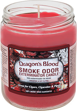 Smoke Odor Exterminator Candle - Dragons Blood